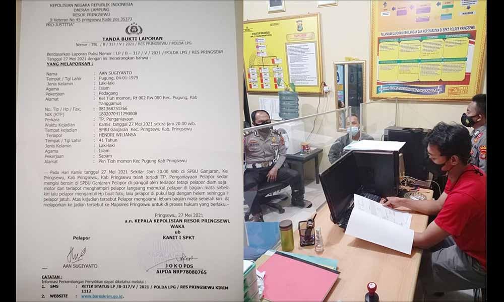 Wilson Lalengke Desak Polisi Pringsewu Usut Tuntas Penganiayaan Anggota PPWI Lampung