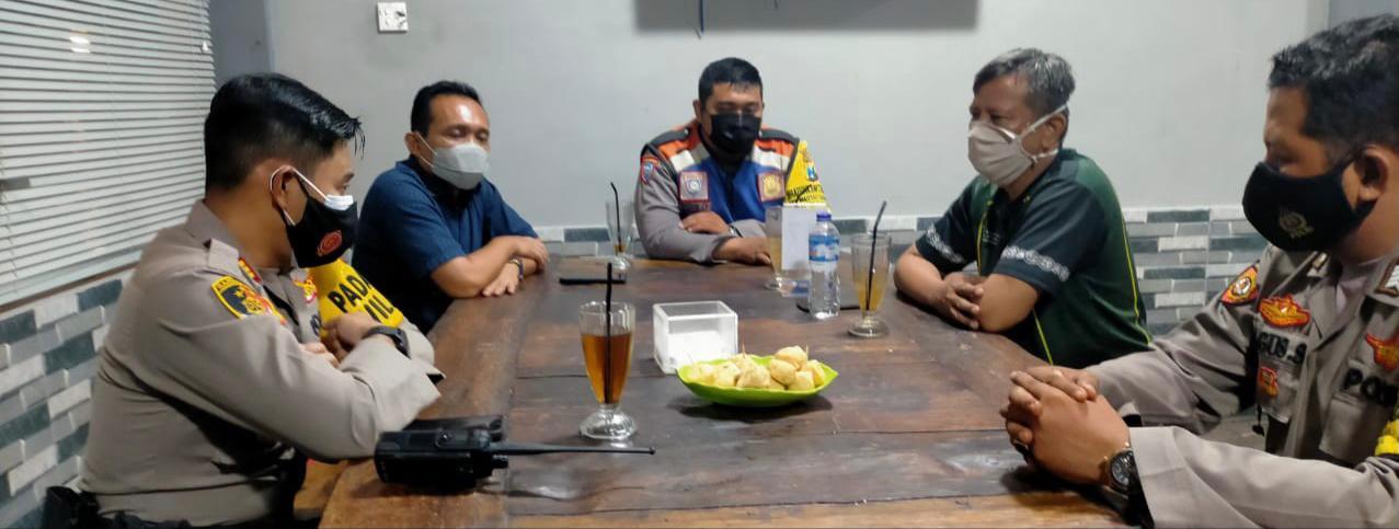 Kapolsek Mulyorejo Silaturahmi Bersama Brigade Bonek