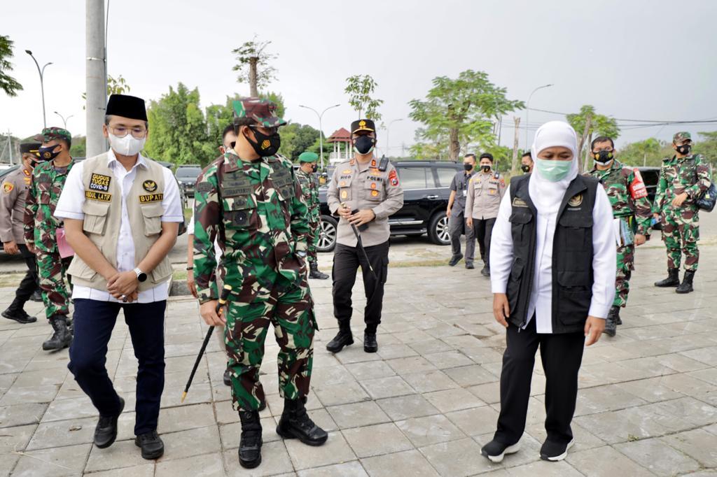 Di Bangkalan, Forkopimda Jatim Gelar Rakor Analisa dan Evaluasi Penanganan Covid-19