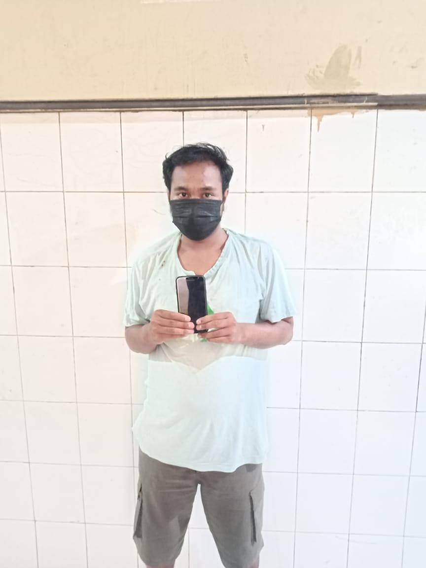 Tangkap Pencuri Handphone, Polsek Kenjeran Tetapkan Teman Tersangka 'FE' DPO Kepolisian