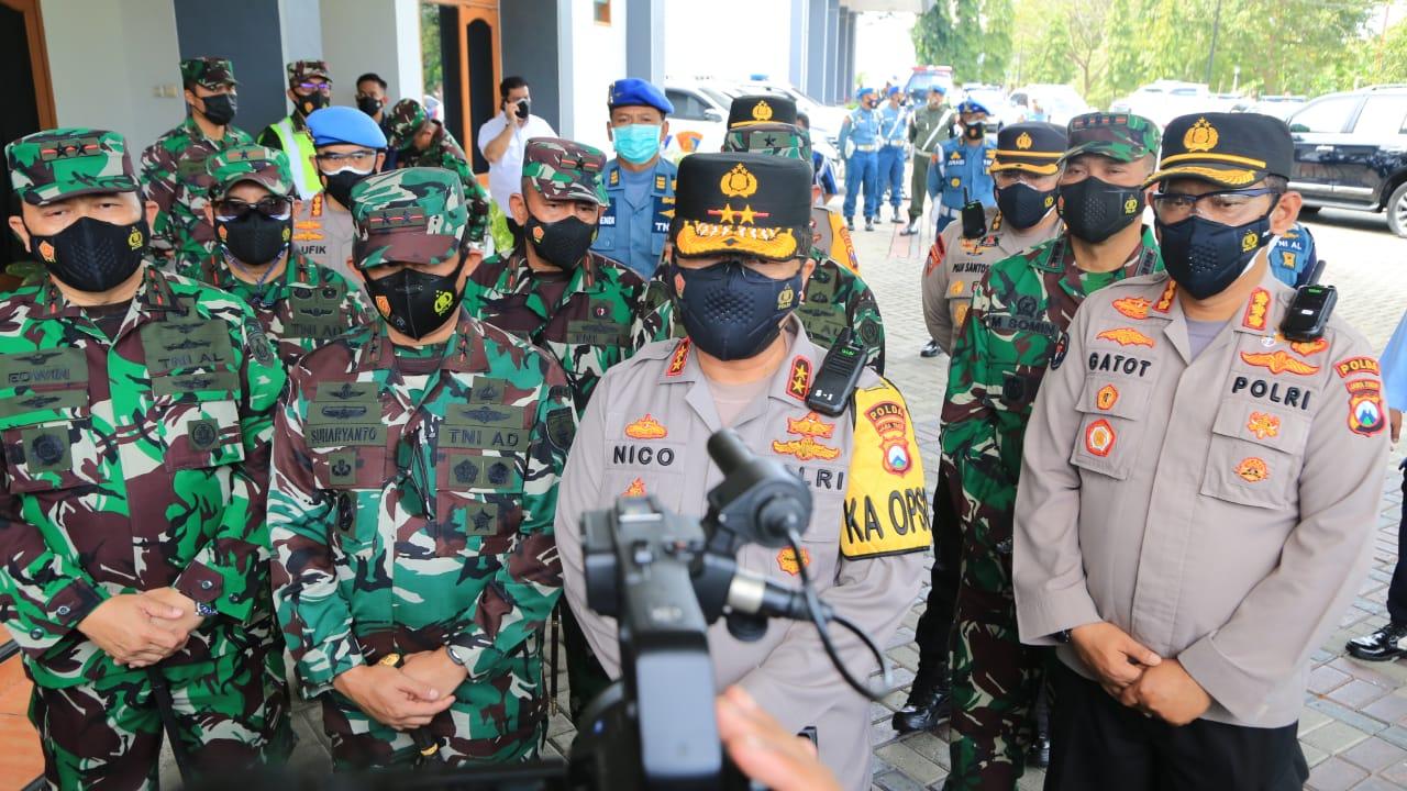 Turunkan Angka Covid-19, Forkopimda Plus Jatim Perkuat Operasi Yustisi