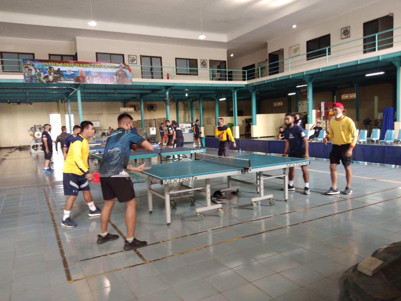 Olahraga Ping-Pong Dikatakan Gubernur AAL Terlihat Ringan dan Bagus Latih Refleks serta Bakar Kalori